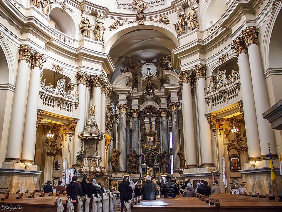 Інтер'єр Домініканського собору © Halyna Zav