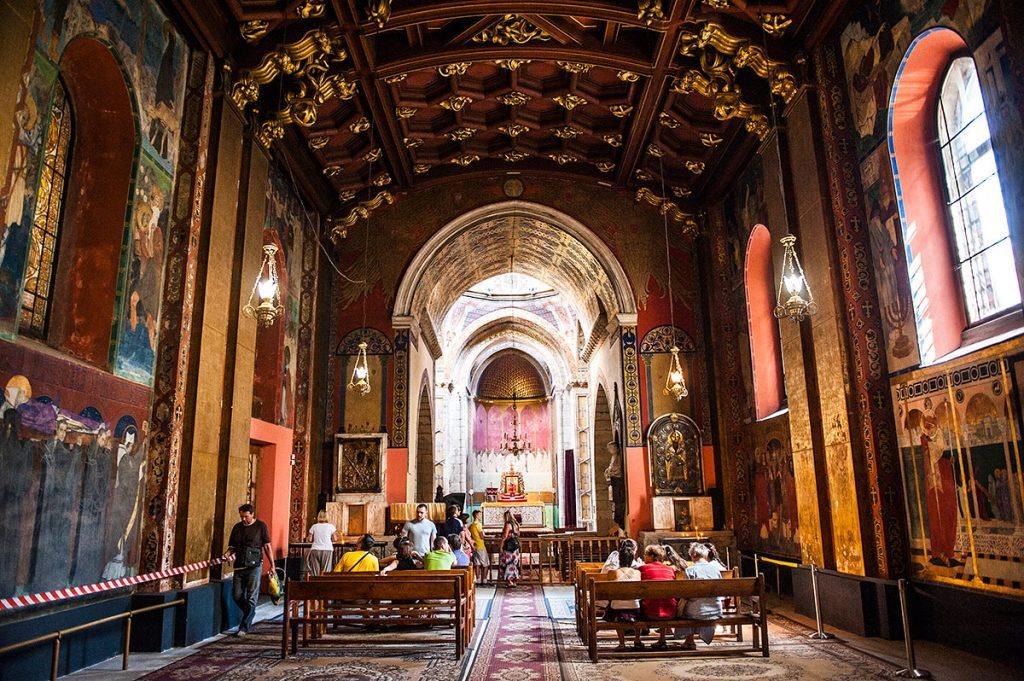Інтер'єр Вірменської церкви © Юлія Сверчкова