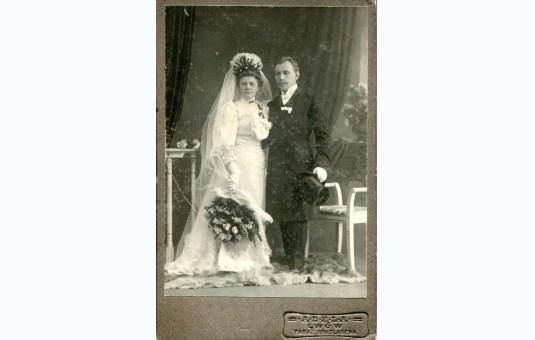 Julia i Leopold Sokołowscy, 16 лютого 1908. Пасаж Міколяша