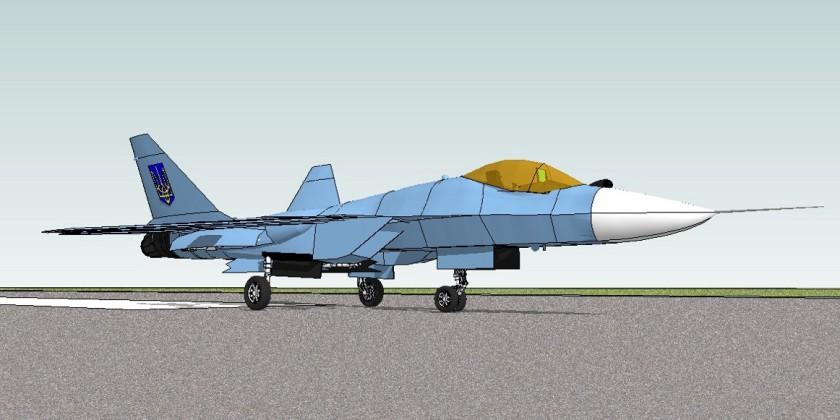 КБ «Антонов» почало розробку українського бойового винищувача