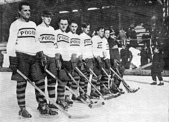 "Львівська команда ""Поґонь"", віце-чемпіон з хокею у 1929 році"