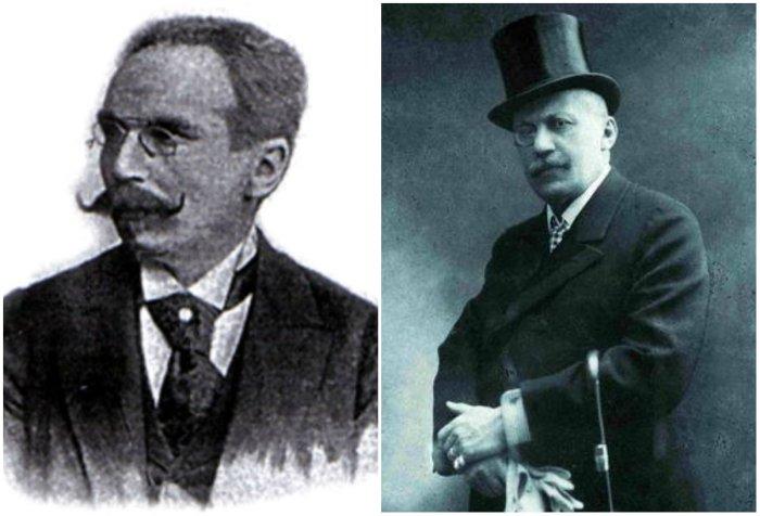 На фото: Ян Завейський (справа) та Зиґмунд Ґорґолевський (зліва)