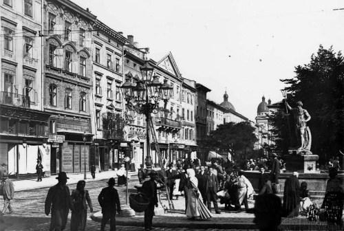 Площа Ринок. Часи Австо-Угорщини