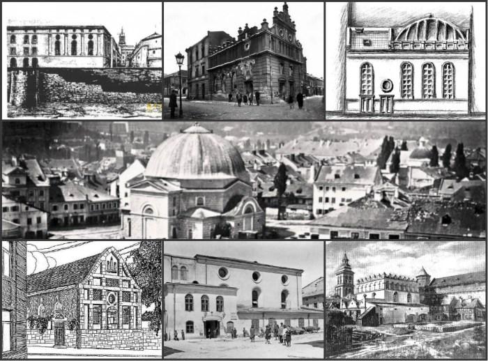 Сім синагог Львова, зруйнованих нацистами