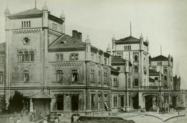 Старий залізничний вокзал у Львові