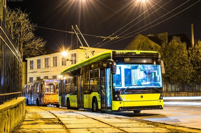 тролейбус львів