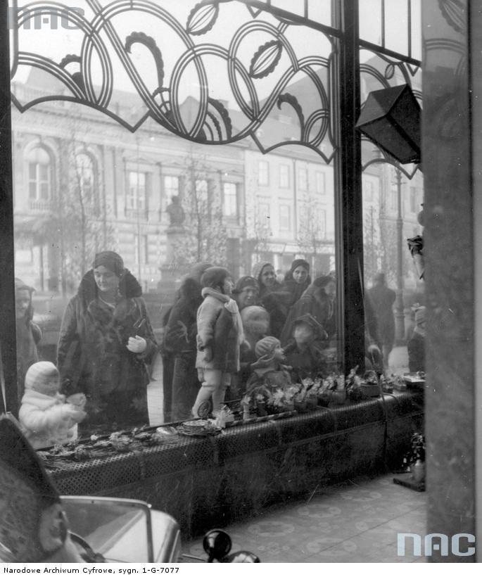 Цукерня Людвіга Залевського на вул. Академічній, 22 (тепер – Шевченка, 10), 1933