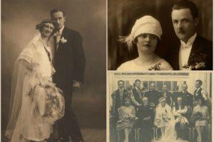 Весільні фотографії зі Львова (перша половина ХХ століття)