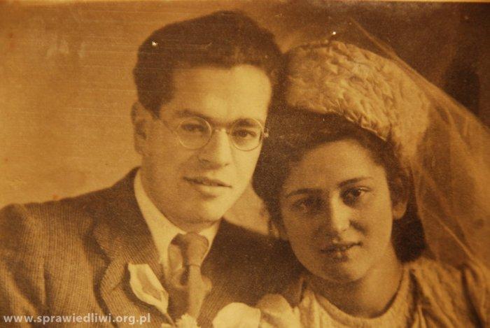 Josef Entenberg i Klarа Fritferdig. Перший єврейський шлюб у повоєнному Львові, листопад 1945