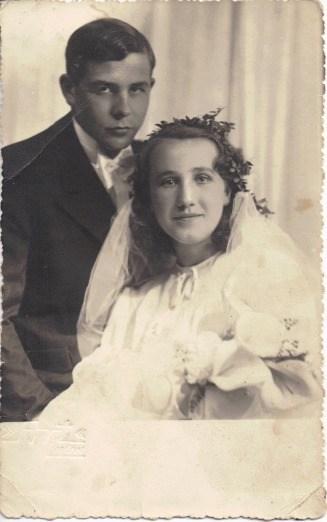 Czesław Strzetelski, Anna Marek, 1937