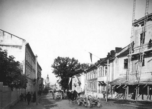 Вулиця Личаківська, початок ХХ ст.