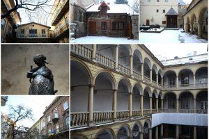 10 загадкових двориків Львова