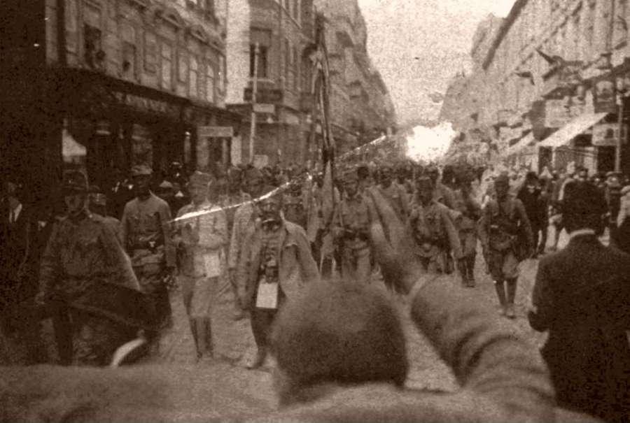 Боснійці у складі армії Е.Бем – Ермолі на нин вул. Дорошенка, червень 1915 р.