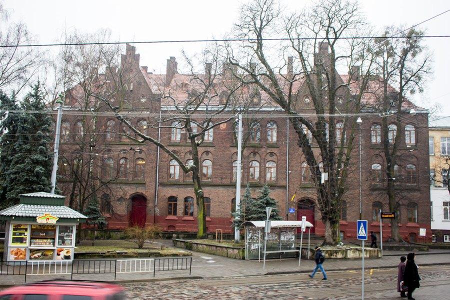 Давня школа св. Марії Магдалини у Львові, фото 2015 року