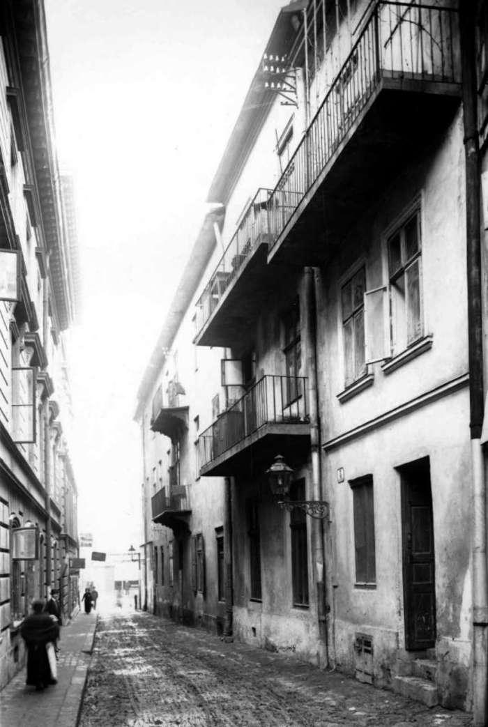 Давня вулиця Крива, фото поч. XX ст.