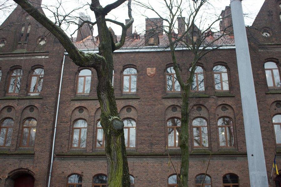 Фасадна частина школи Марії Магдалини, фото наших днів