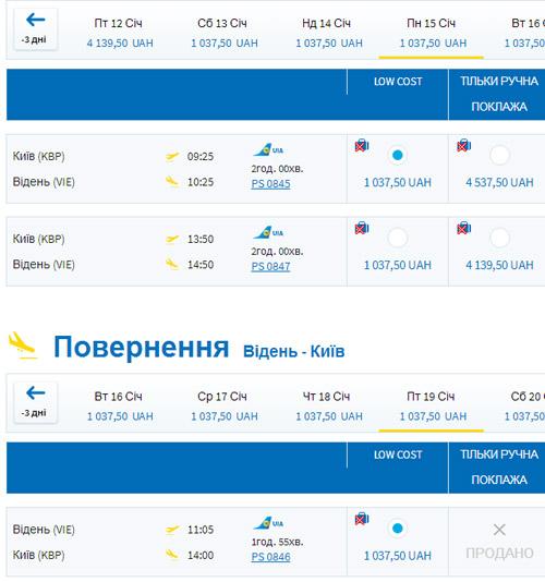 Відень – Київ