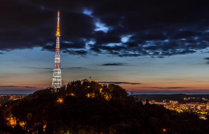 Львівський телецентр на Високому замку