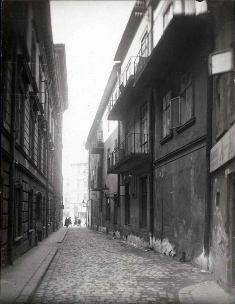 На вулиці Кривій, фото до 1914 року