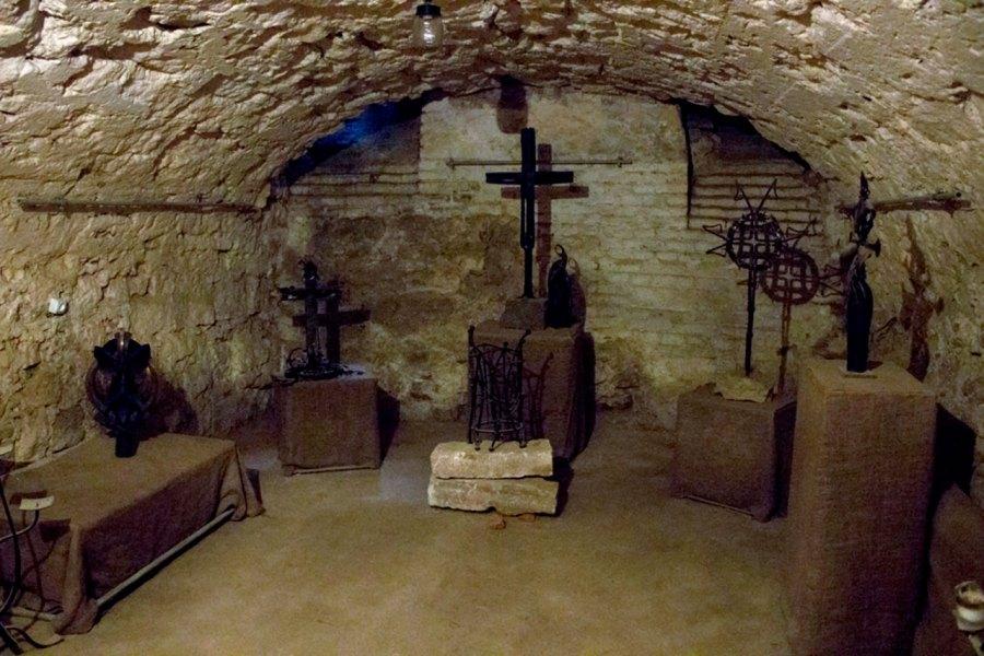 Підземелля Домініканського собору у Львові