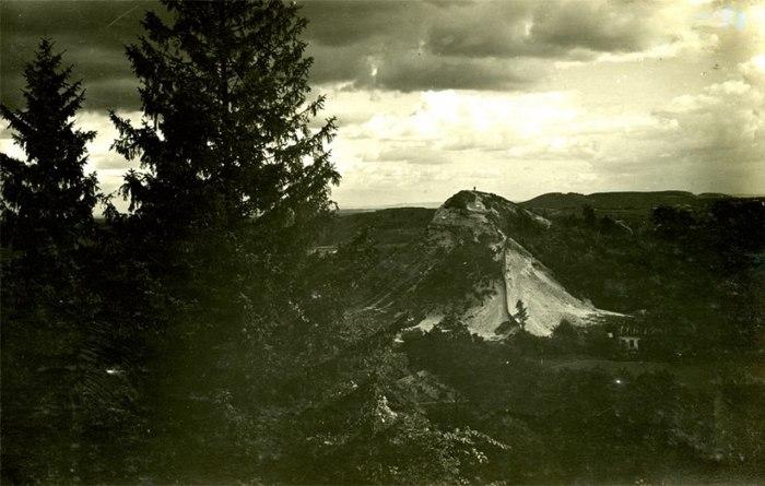 Вид на гору князя Лева, 1930 – 1931 рр.