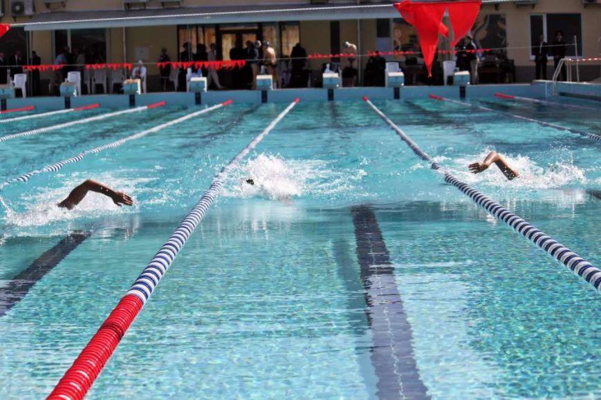 Відкритий басейн спорткомплексу СКА.