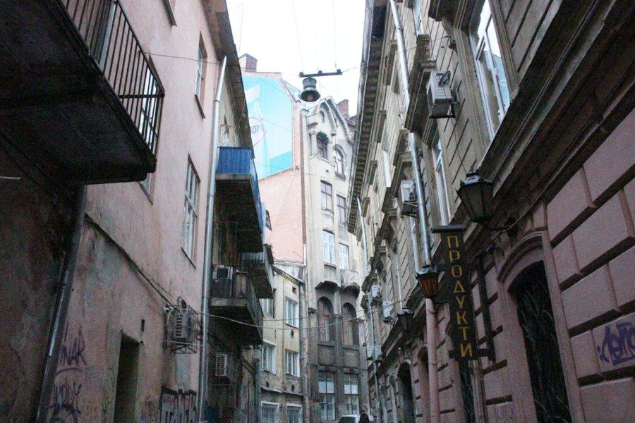 Забудова вул. Нижанківського, фото 2015 року