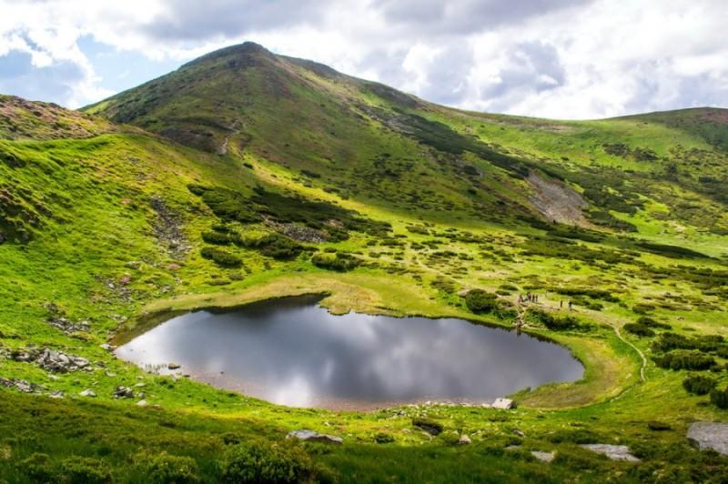 Озеро Несамовите Рахівський район Закарпатської області