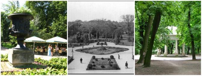 Парк Івана Франка (Парк Костюшка, Єзуїтський сад)