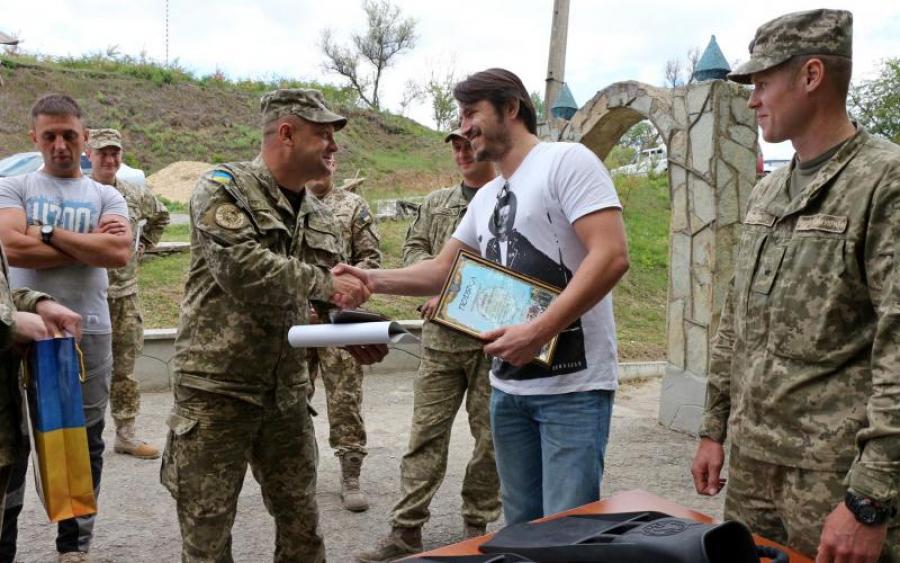Притула забезпечив українських кулеметників хижаками