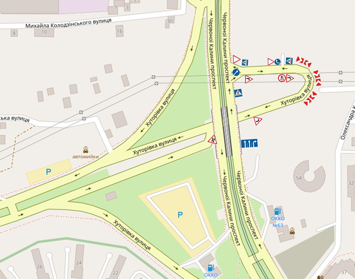 Схему створено з використанням матеріалів ЛКП «Львівавтодор» та мапи ©OpenStreetMap contributors. Автор схеми Назар Тузяк/ZAXID.NET