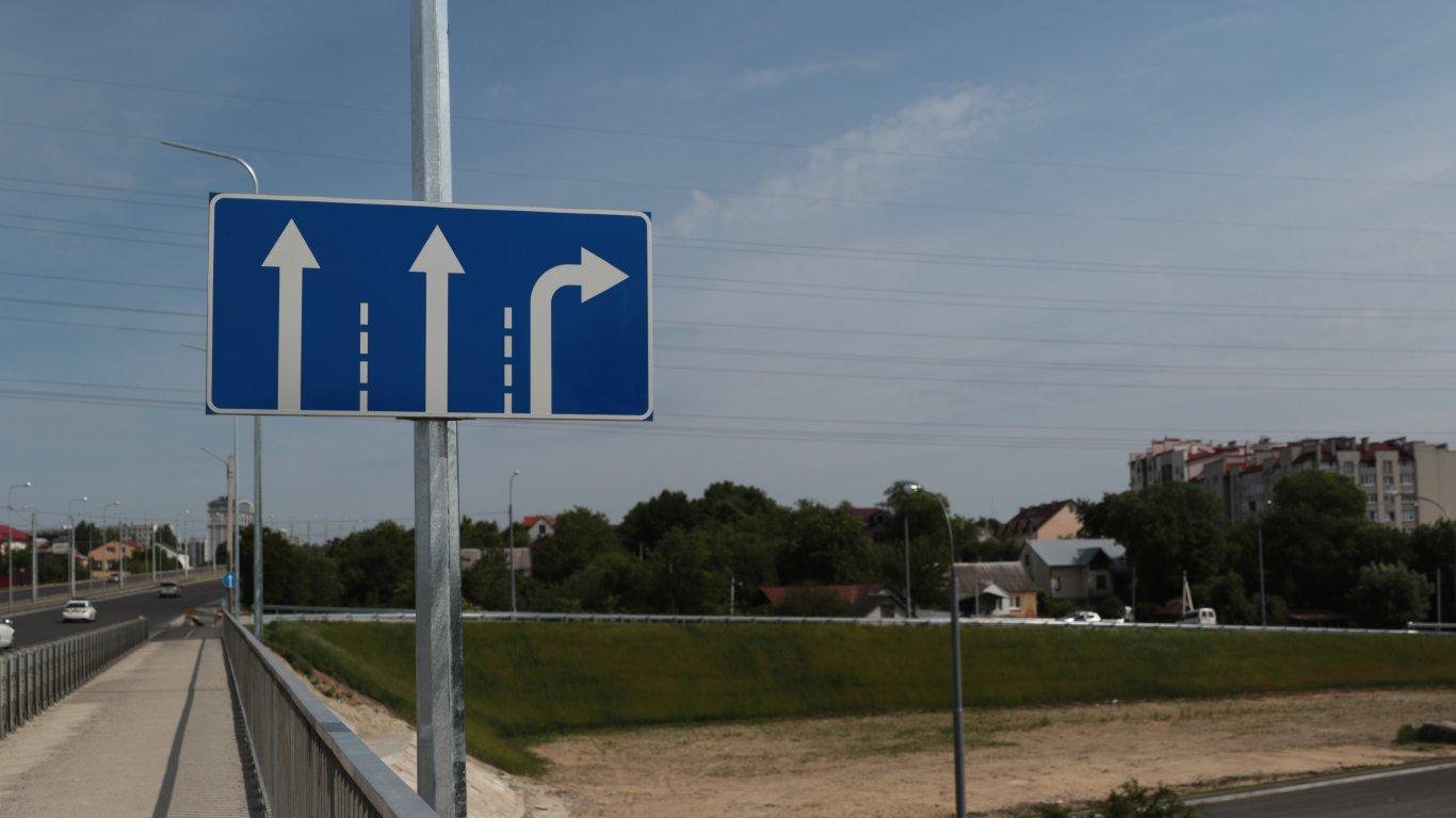 Сихівська петля. У Львові збудували нову траспортну розв'язку