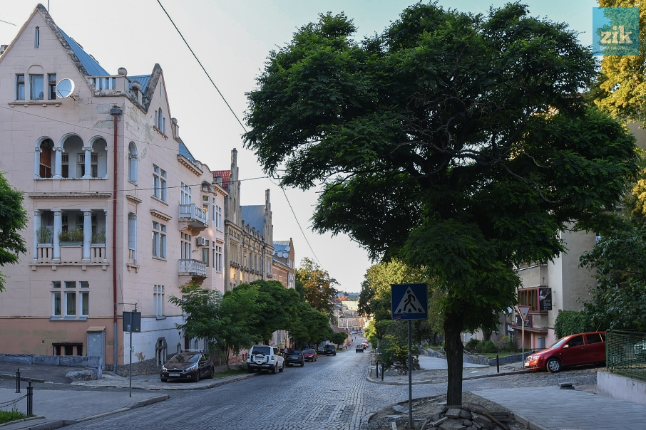 Вул. Героїв Майдану. Фото: Миколи Тиса/ZIK