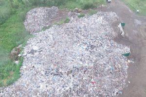 На території Львова виникло гігантське несанкціоноване сміттєзвалище