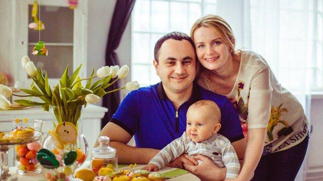 Назарій Гичка з дружиною Надією