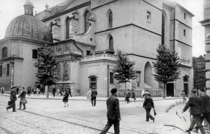 площа Катедральна. фото з архівів Центру міської історії