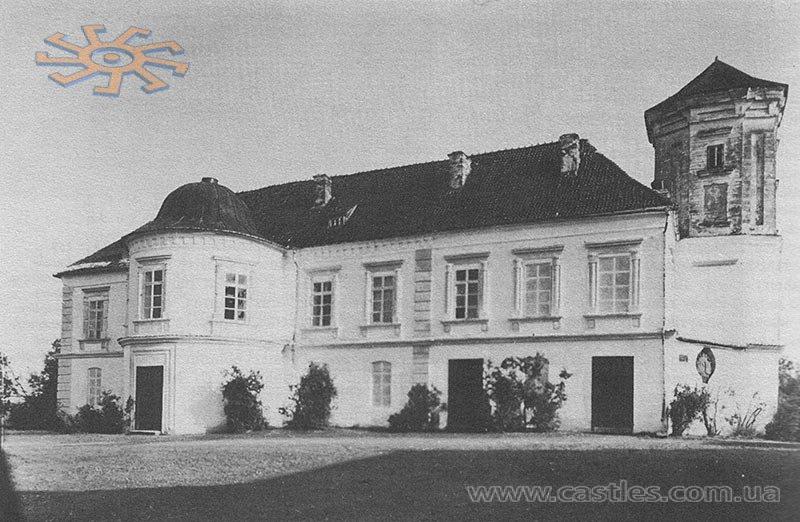Замок Мнішеків. Фото до 1914 р.
