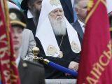 Патріарх Філарет змусив московських священників стояти під час параду до Дня Незалежності
