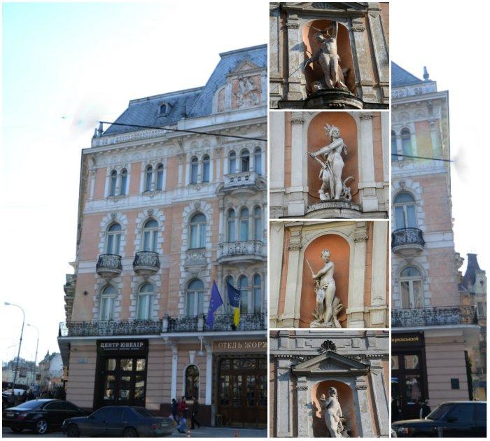 Алегоричні жінки готелю «Жорж»