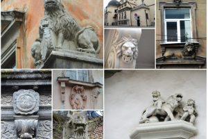 Десять левів, що причаїлися на вулицях міста