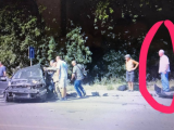 Петра Димінського зняли на відео на місці ДТП (відео)