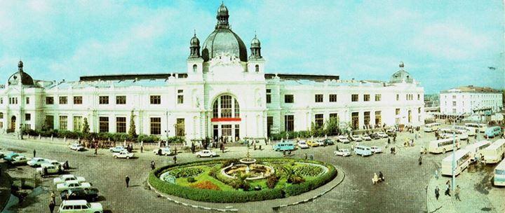 Головний залізничний вокзал у Львові