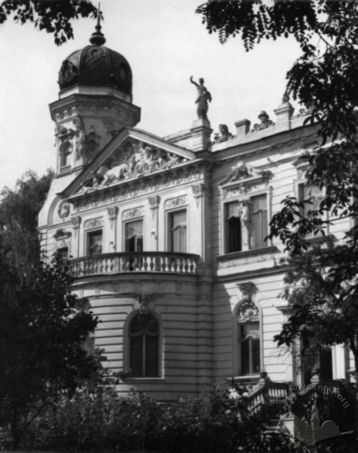 Колишня вілла Дуніковського, фото 1964 року
