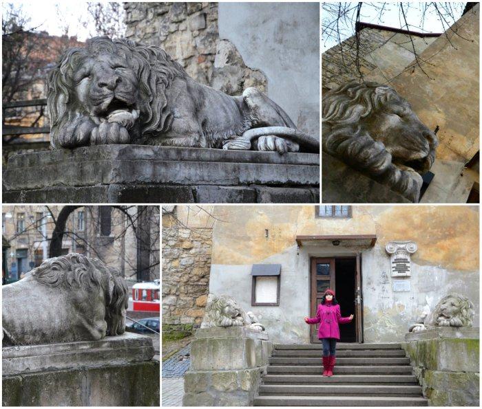 Леви біля Порохової вежі