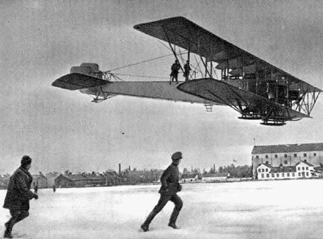 """Російський літак """"Ілля Муромець""""."""