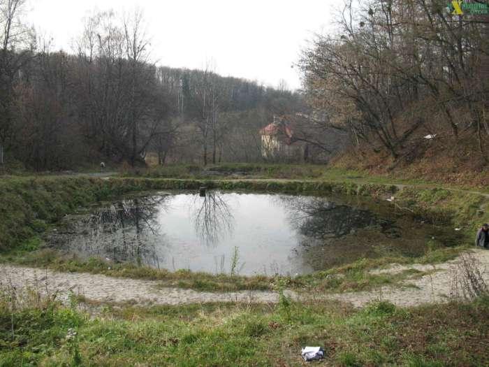 Верхній ставок колишньої купальні, фото наших днів