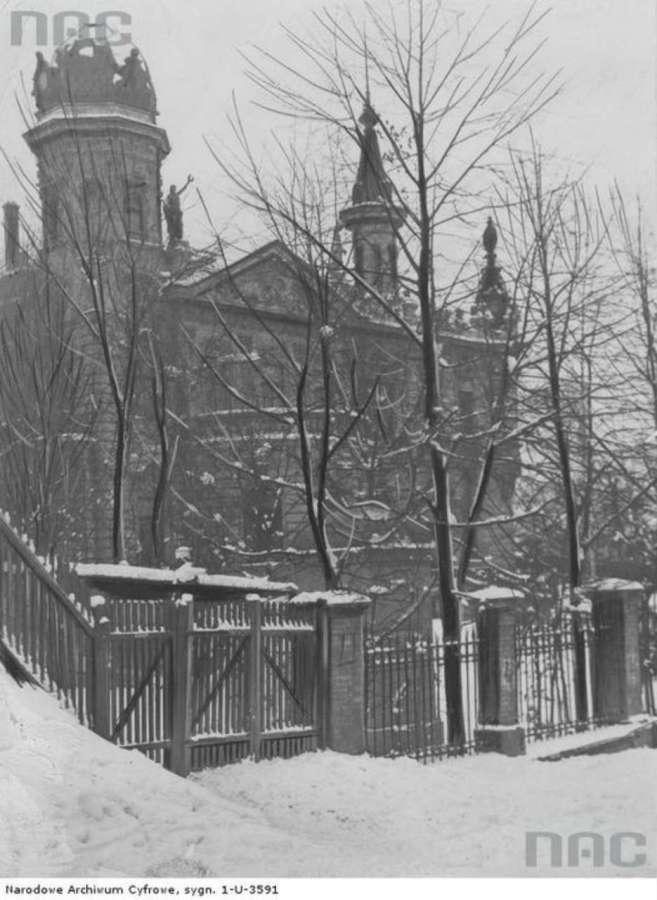 Вілла Дуніковського, фото 1932 року