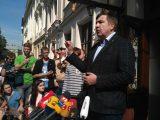 До львівського готелю, де поселився Саакашвілі, стягують силовиків, – Сакварелідзе
