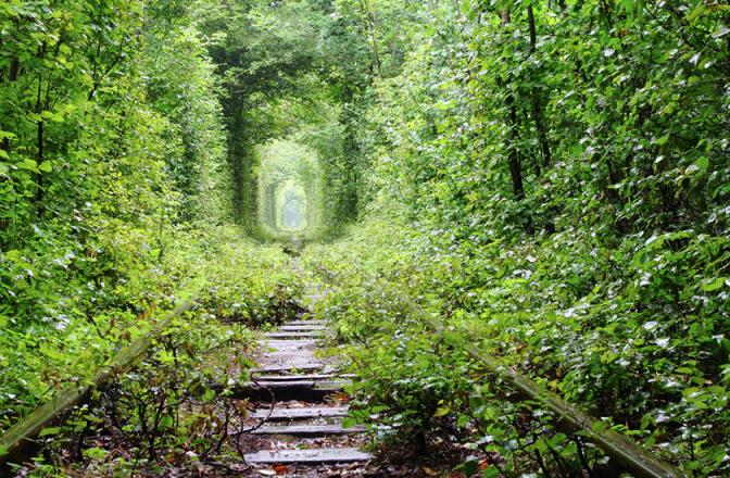 11. Тунель кохання, Рівненська область