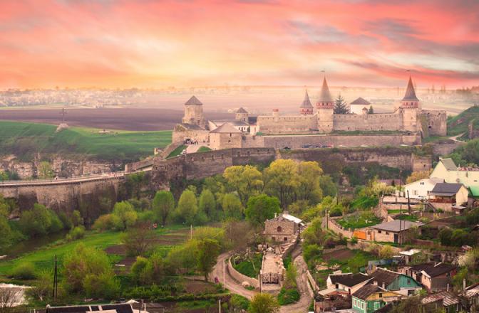 3. Кам'янець-Подільський замок